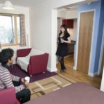 North London student residences living room