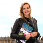 General English courses - girl with study book