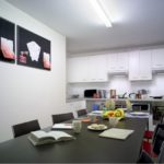 North London student residences shared kitchen