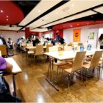 North London student residences cafeteria