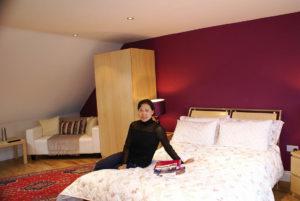 North London homestay - Comfortable bedroom