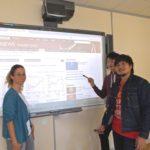 Cambridge English exam - students analizing websites in English