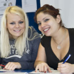 Student Information - Happy students at school