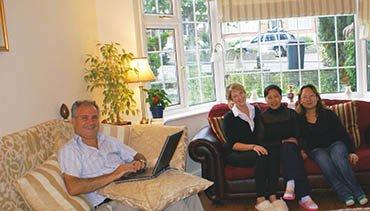 Host-family-students