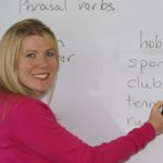 North London English courses - using whiteboard