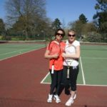 Leisure courses - students playing Tennis